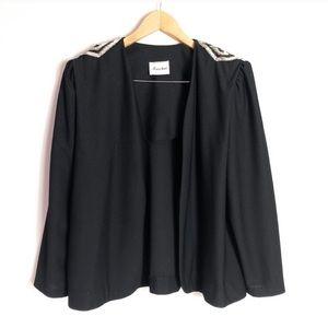 VINTAGE Boston Maid black blazer